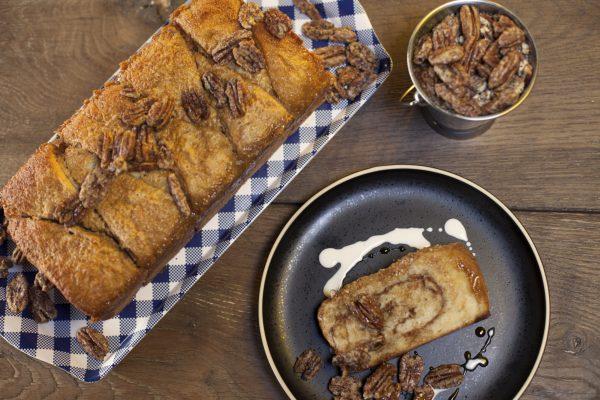 Pull Apart Praline Bread from Let's Brunch