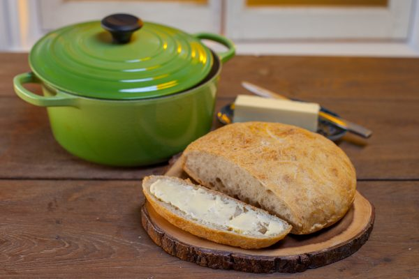 Cast Iron Farmhouse Bread from Let's Brunch
