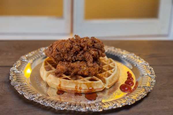 Fried Chicken and Waffles from Let's Brunch