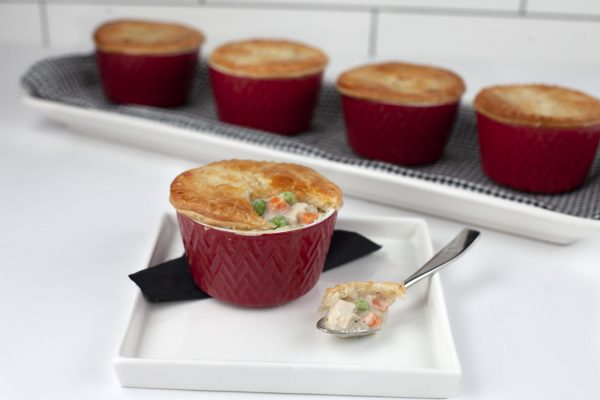 Chicken Pot Pies from Pressure's ON