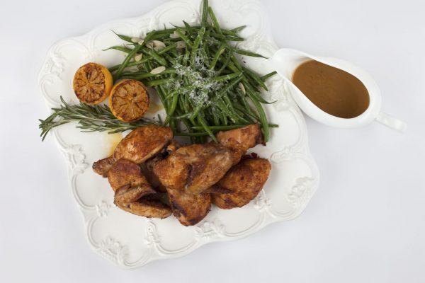 Roast Chicken from Pressure's ON