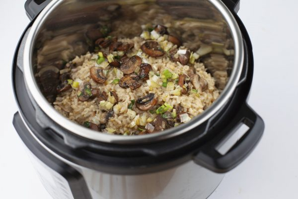 Mushroom and Thyme Risotto from Pressure's ON