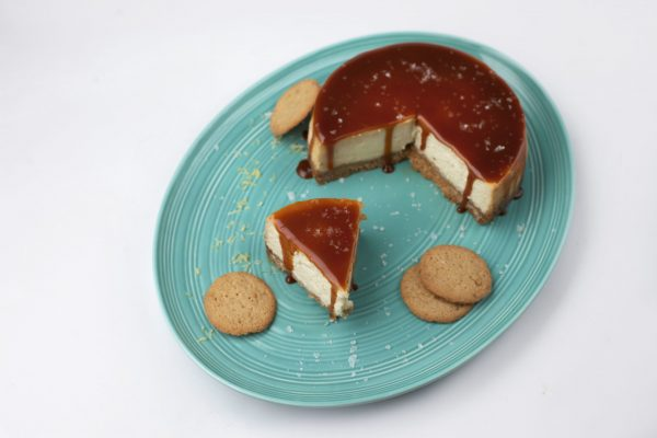 Salted Caramel Cheesecake from Pressure's ON