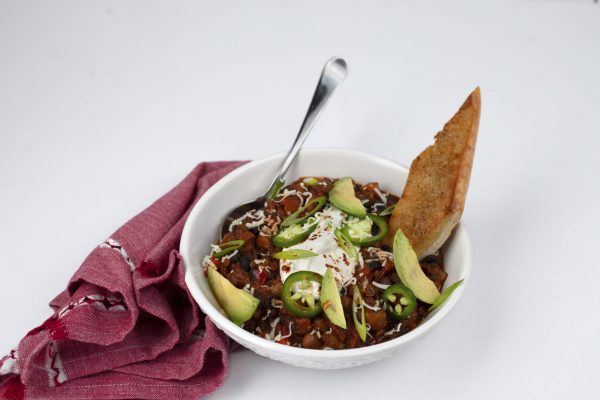 Vegetarian Chili from Pressure's ON