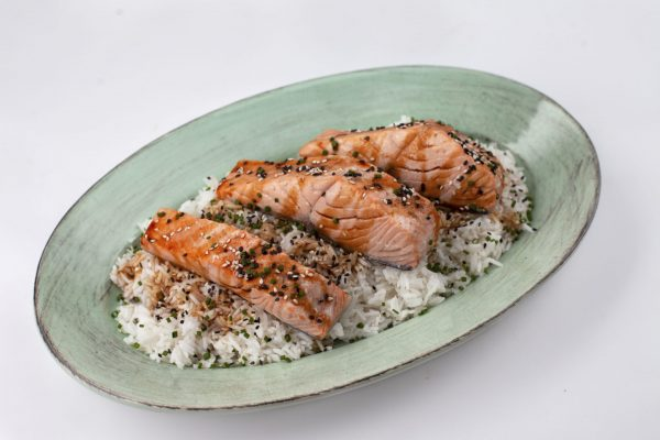 Maple Teriyaki Salmon from Pressure's ON