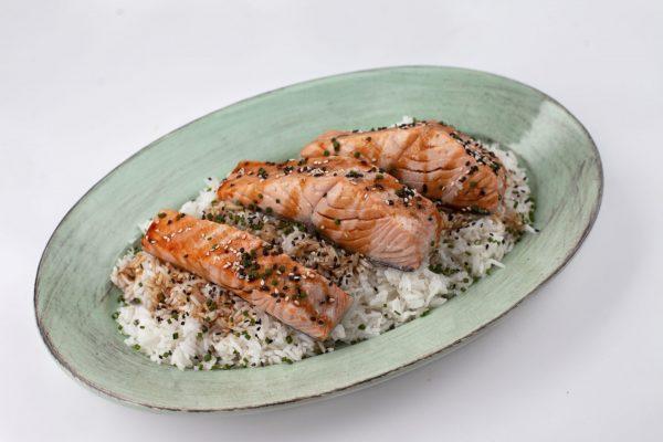 Maple Teriyaki Salmon from Pressure's ON