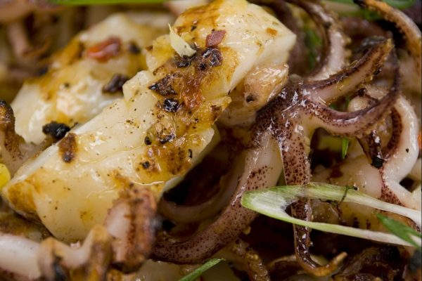 Grilled Calamari from Road Grill