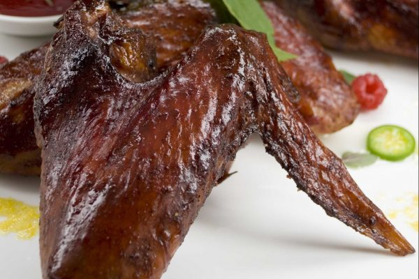 Raspberry Chipotle Turkey Wings from Road Grill