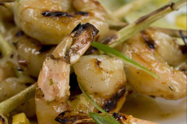 Lemongrass Shrimp from Road Grill
