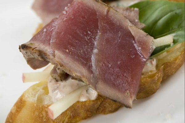 Tuna Bruschetta from Road Grill