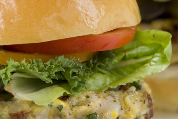 Scallop Corn Burger from Road Grill