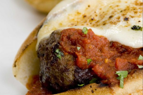 Grilled Meatball Sub from Road Grill