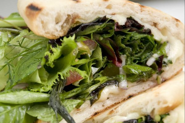 Pizza Salad Sandwiches from Road Grill