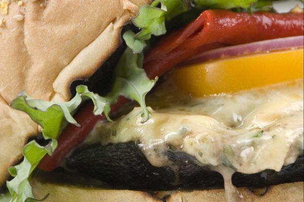 Portobello Burger Stack from Road Grill