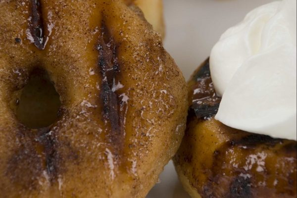 Grilled Sugar Cinnamon Doughnuts from Road Grill