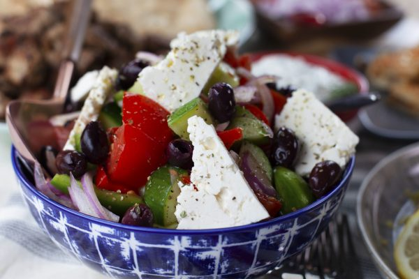 Greek Country Salad from Spencer's BIG 30