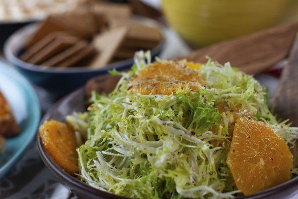 Citrus Ginger Frisee Salad from Spencer's BIG 30