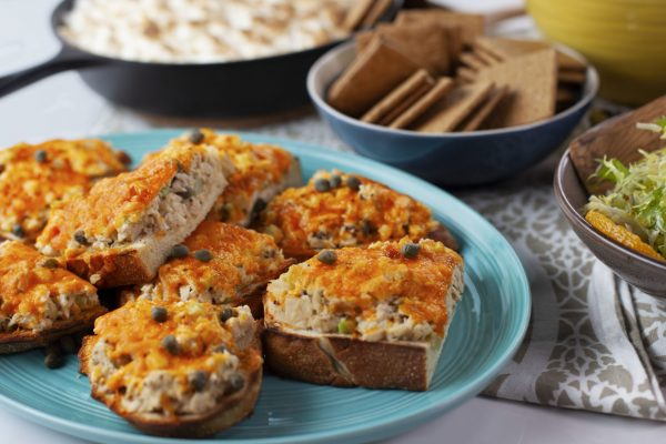 Rustic Tuna Melts from Spencer's BIG 30