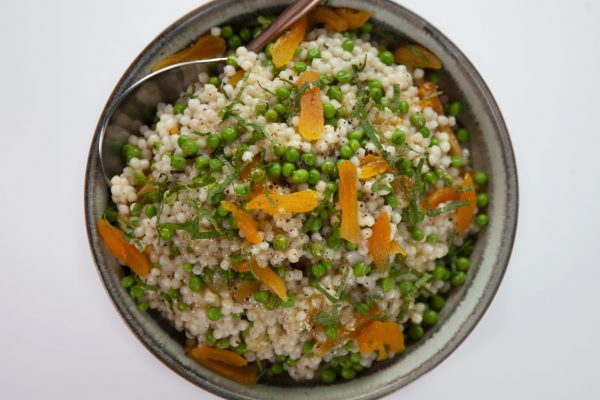 Pearl Couscous Salad from Spencer's BIG 30