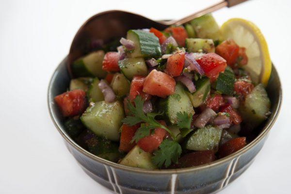 Kachumber Salad from Spencer's BIG 30