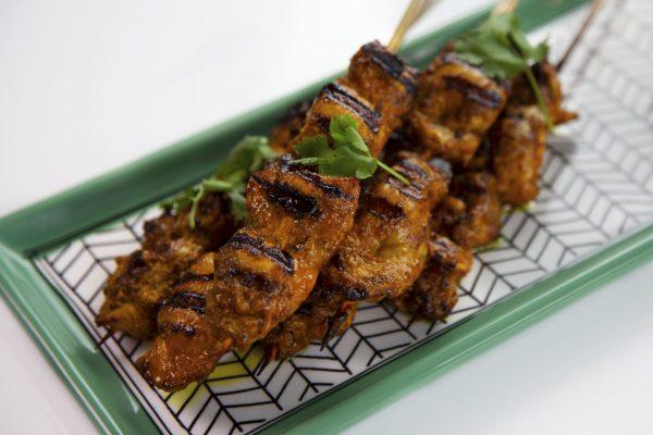 Tandoori Chicken Skewers from Spencer's BIG 30