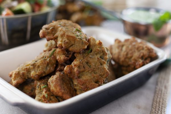 Veggie Pakoras from Spencer's BIG 30
