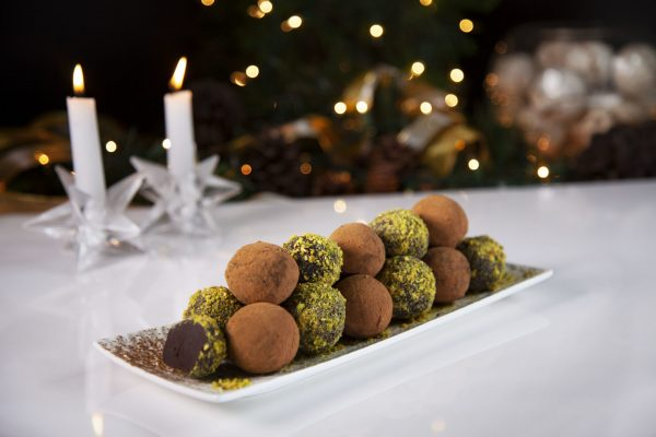 Chocolate Truffles from Spencer's BIG Holiday