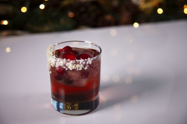 Cranberry Ginger Tequila from Spencer's BIG Holiday