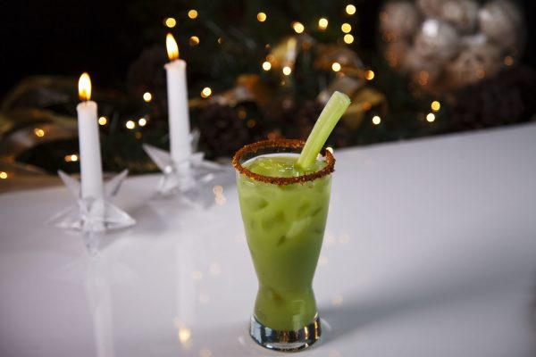 Green Caesar from Spencer's BIG Holiday