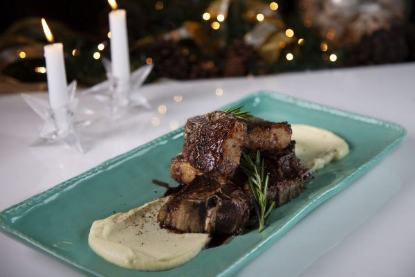 Rosemary Pomegranate Lamb from Spencer's BIG Holiday