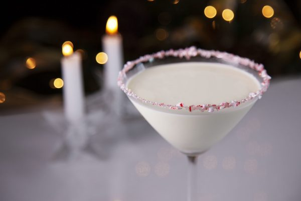 White Chocolate Peppermint Martini from Spencer's BIG Holiday