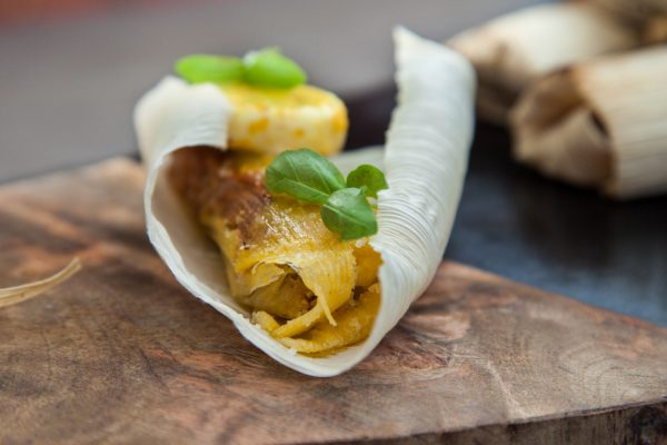 Pumpkin Tamales with Orange Ginger Butter from Watts on the Grill