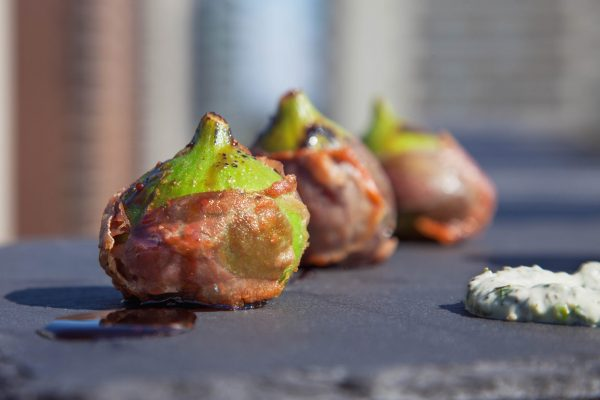 Prosciutto Wrapped Figs from Watts on the Grill