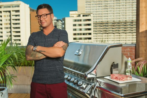 Watts on the Grill Host Spencer Watts