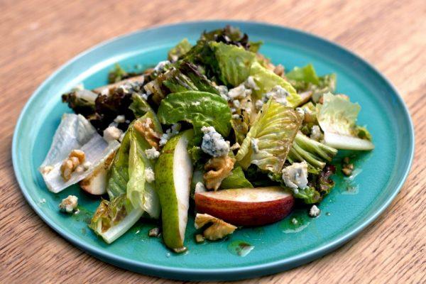 Apple Bacon Pear Salad