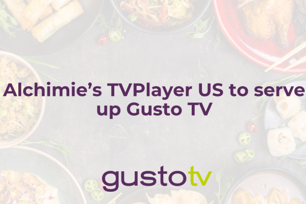 Alchimie's TVPlayer US to serve up Gusto TV