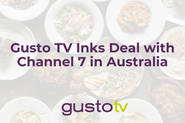 gusto tv inks deal with channel 7 in australia