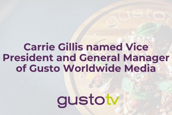 carrie gillis named vice president and general manager of gusto worldwide media