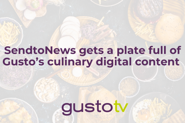 sendtonews gets a plate full of gusto's culinary digital content