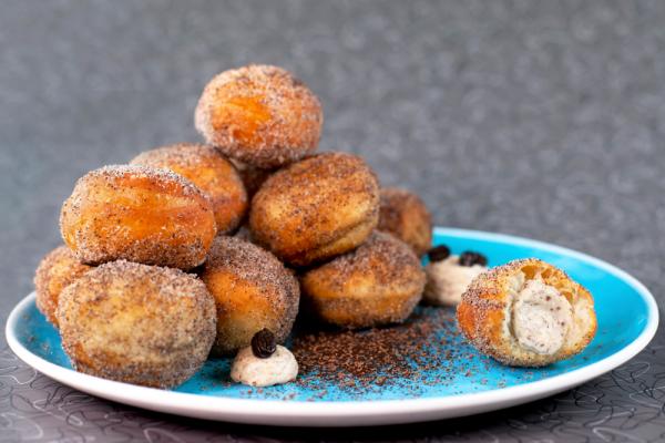 Mini Tiramisu Donuts