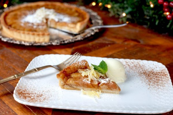 Pear Ginger Tart