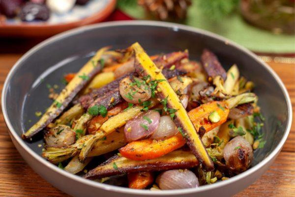 Pistachio Honey Carrots