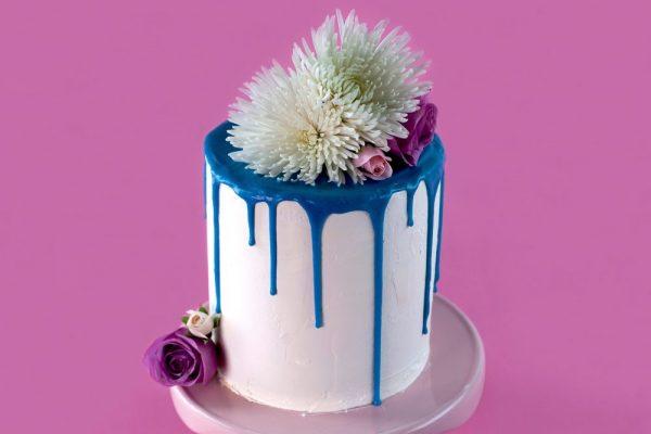 Raindrop Drip Cake