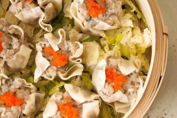 shumai (pork dumplings)