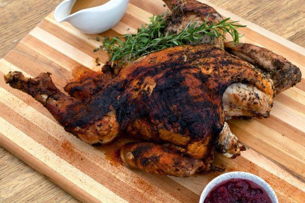 Smoked Turkey Two Ways
